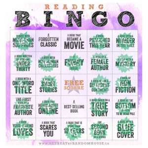 ReadingBingoAlmost Complete